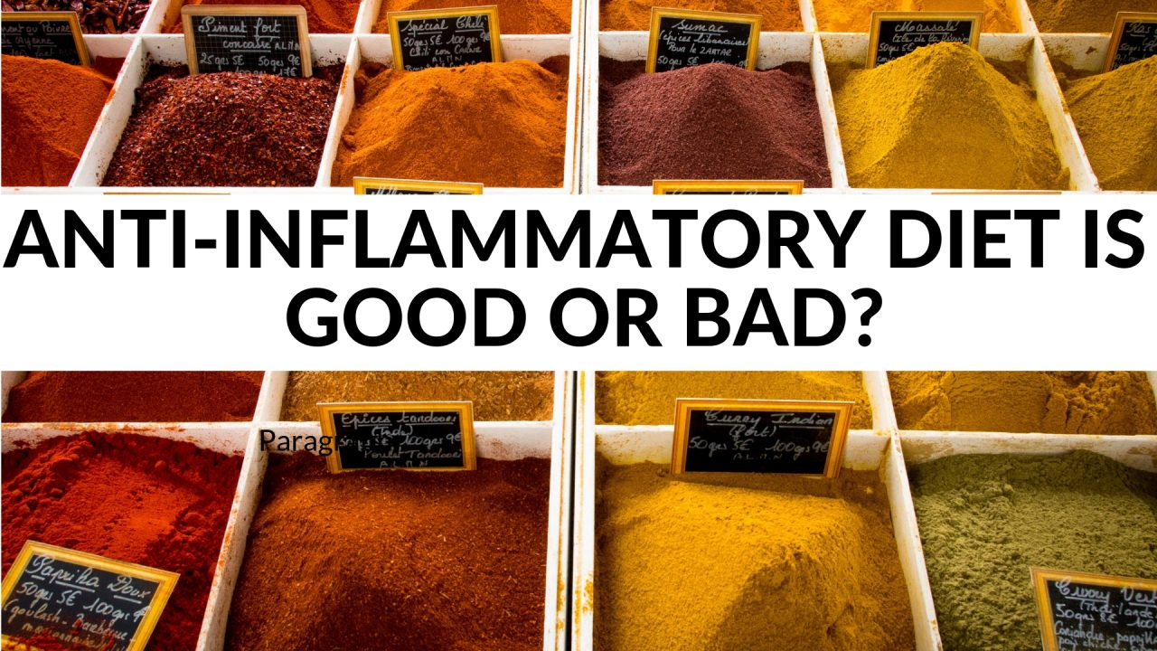 Anti-Inflammatory Diet is good or bad