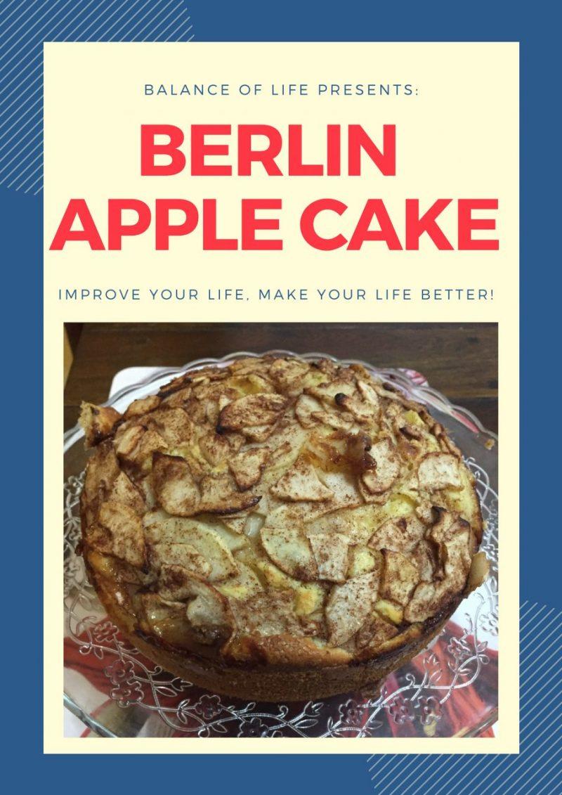 Berlin Apple Cake