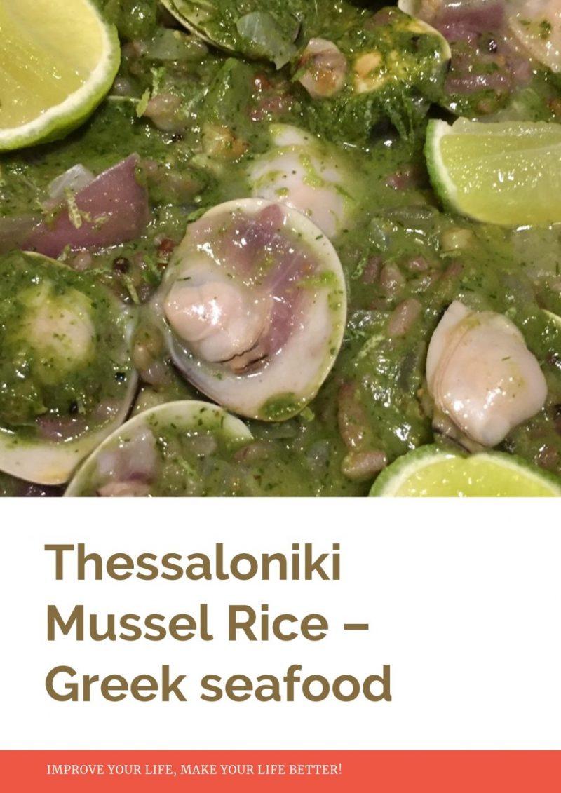 Mussel Rice