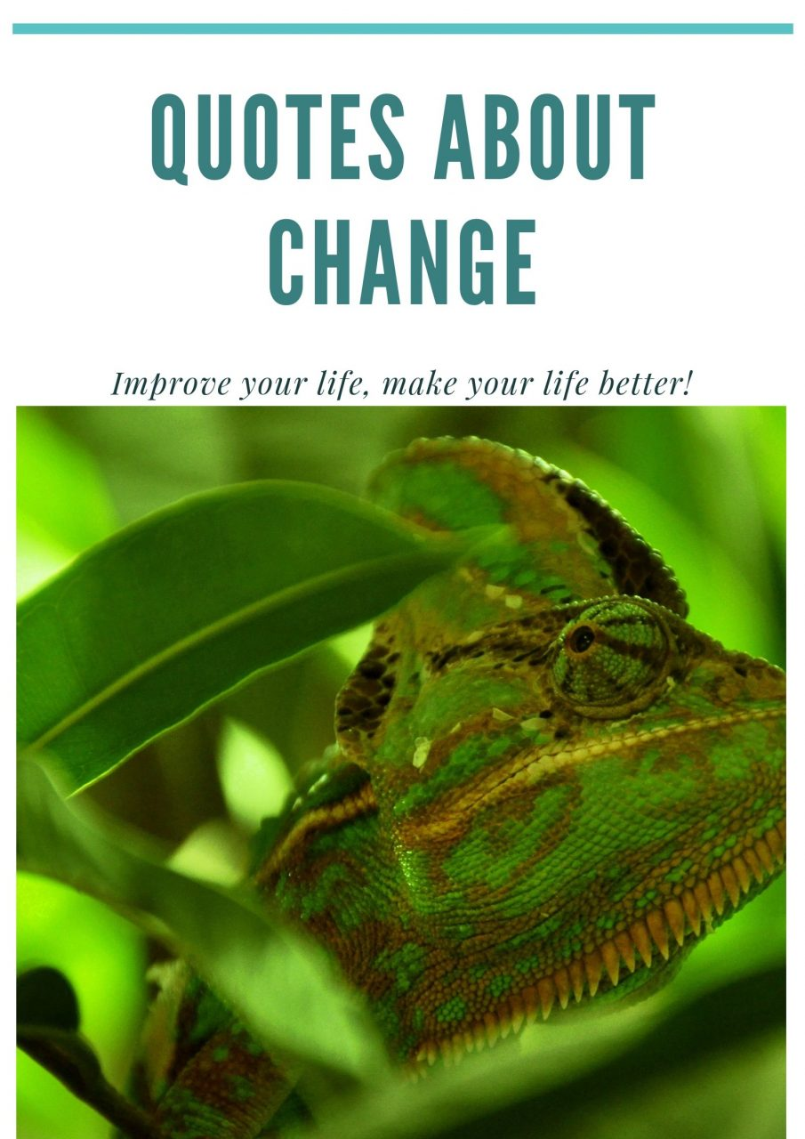 Quotes About Change To Help You Grow