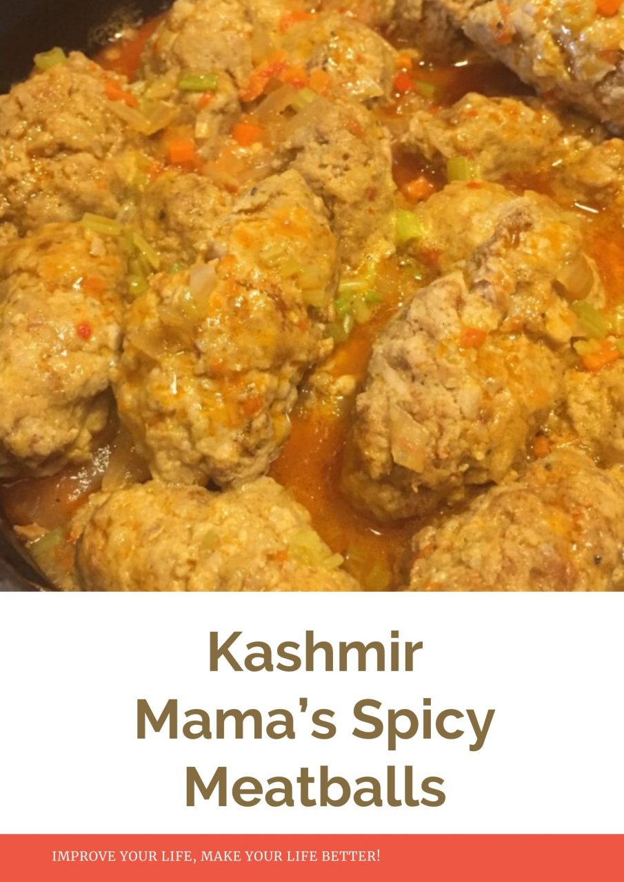 Kashmir Mama's Spicy Meatballs